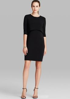 Cynthia Steffe Dress - Shira Three Quarter Sleeve Popover Sheath
