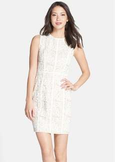Cynthia Steffe 'Elenora' Lace Sheath Dress