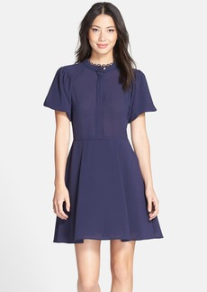 Cynthia Steffe 'Ellie' Crepe Fit & Flare Dress
