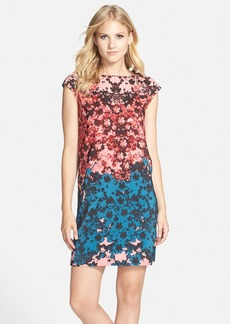 Cynthia Steffe Floral Stretch Cotton Shift Dress