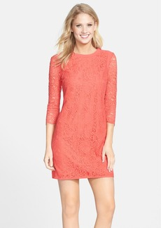 Cynthia Steffe 'Hallie' Lace Shift Dress