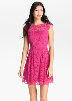 Cynthia Steffe 'Hannah' Lace Fit & Flare Dress