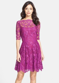 Cynthia Steffe Lace Fit & Flare Dress