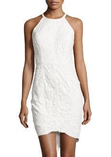 Cynthia Steffe Lace Sleeveless Sheath Dress, Lilly White