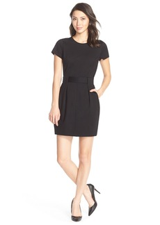 Cynthia Steffe 'Lana' Belted Ponte Shift Dress
