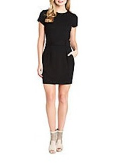 CYNTHIA STEFFE Lana Belted Sheath Dress