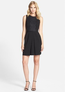 Cynthia Steffe 'Liza' Lace Trim Dress