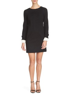 CYNTHIA STEFFE Long Sleeve Shift Dress