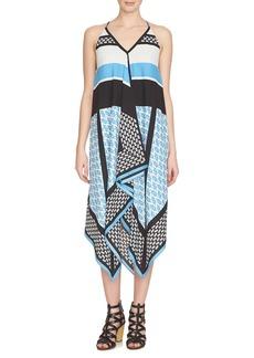 Cynthia Steffe 'Mariah' Print Midi Dress