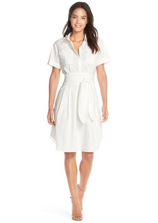 Cynthia Steffe 'Maya' Tie Waist Fit & Flare Shirtdress (Nordstrom Exclusive)