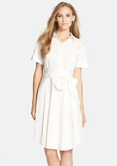 Cynthia Steffe 'Maya' Tie Waist Fit & Flare Shirtdress