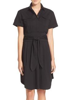 Cynthia Steffe 'Maya' Tie Waist Fit & Flare Shirtdress (Nordstrom Exclusive)