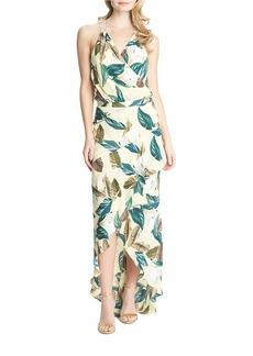 CYNTHIA STEFFE Merelle Halter Maxi Dress
