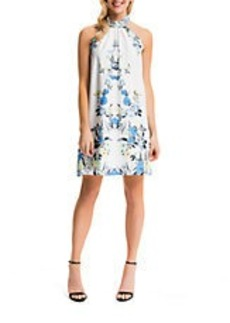CYNTHIA STEFFE Monte Tie Neck Halter Dress