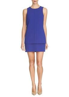 Cynthia Steffe 'Mya' Tiered Scuba Sheath Dress