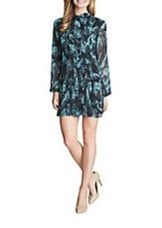 CYNTHIA STEFFE Naomi Patterned Shift Dress