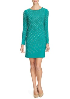 Cynthia Steffe 'Natasia' Embellished Jersey Sheath Dress