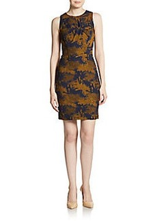 Cynthia Steffe Neve Knotted Jacquard Sheath Dress