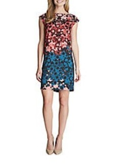 CYNTHIA STEFFE Olivia Floral Shift Dress