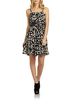 Cynthia Steffe Pamela Silk Print Dress