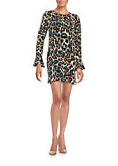 CYNTHIA STEFFE Patterned Shift Dress