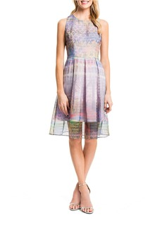 CYNTHIA STEFFE Pleated Sunset Dress