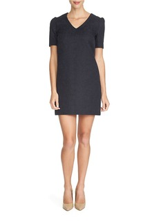 CYNTHIA STEFFE Pouf-Sleeved Sheath Dress