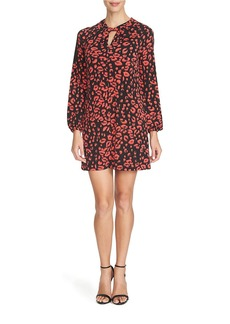 CYNTHIA STEFFE Printed Shift Dress
