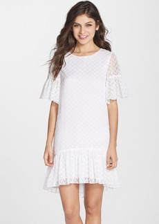 Cynthia Steffe 'Robyn' Ruffle Woven A-Line Shift Dress