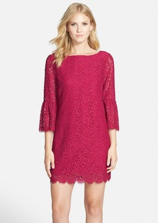 Cynthia Steffe Scalloped Lace Shift Dress