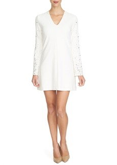 Cynthia Steffe 'Shayna' Embellished Bell Sleeve Shift Dress