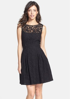Cynthia Steffe 'Shia' Lace Fit & Flare Dress