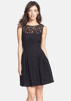 Cynthia Steffe 'Shia' Lace Fit & Flare Dress