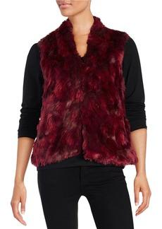 CYNTHIA STEFFE Skylar Faux Fur Vest