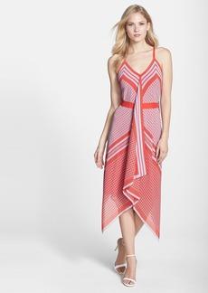 Cynthia Steffe 'Tarianna' Print Chiffon Midi Dress
