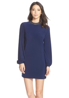 Cynthia Steffe 'Trinity' Embellished Jersey Shift Dress
