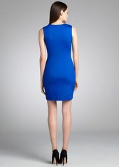 Cynthia Steffe tropic lapis 'Natalie' embellished sheath dress