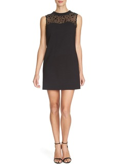 Cynthia Steffe 'Valerie' Illusion Ponte Shift Dress