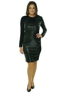 Cynthia Steffe Women's Long Sleeve Stretch Dress Black 8