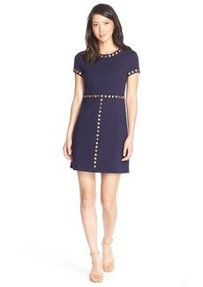 Cynthia Steffe'Sophia' Embellished PonteA-Line Dress