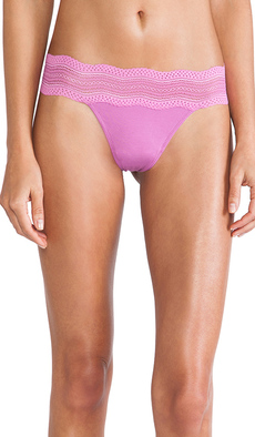 Cosabella Dolce Thong in Purple