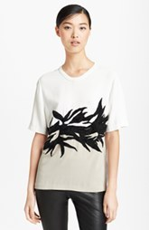 Jason Wu Botanical Appliqué Crepe Tee