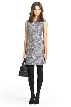 Carpreena Tweed A-line Mini Dress