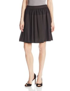 Calvin Klein Women's Circle Skirt with Chiffon