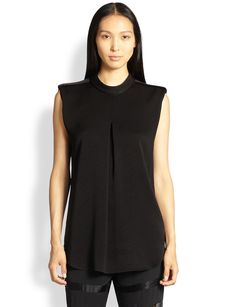 3.1 Phillip Lim Pleat-Front Top