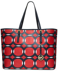 MICHAEL Michael Kors Jet Set Deco Medium Travel Tote
