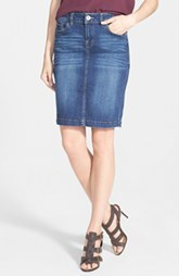 kensie Denim Pencil Skirt