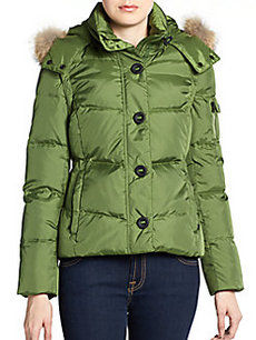 MARC NEW YORK by ANDREW MARC Mystic Fur-Trimmed Convertible Down Jacket