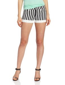 Hudson Jeans Women's Nina Stripe Short