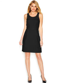kensie Textured Circle Dress